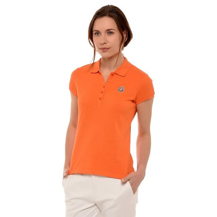 b75437cfa69ed Polo piqué logo tricolore terre battue Roland Garros