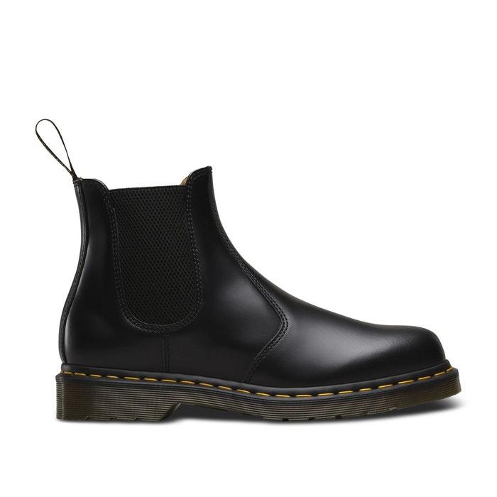 1064bdd30246 Boots chelsea cuir 2976 noir Dr Martens