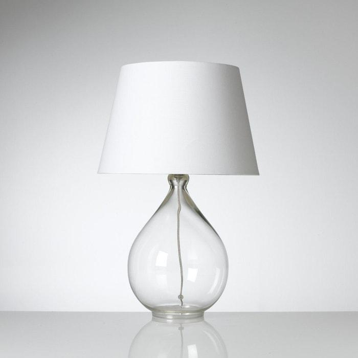 lampe a poser transparente