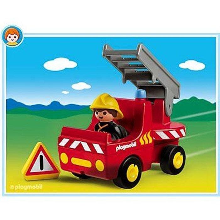 playmobil 6716 pompier et camion playmobil image 0 - Playmobil Pompier