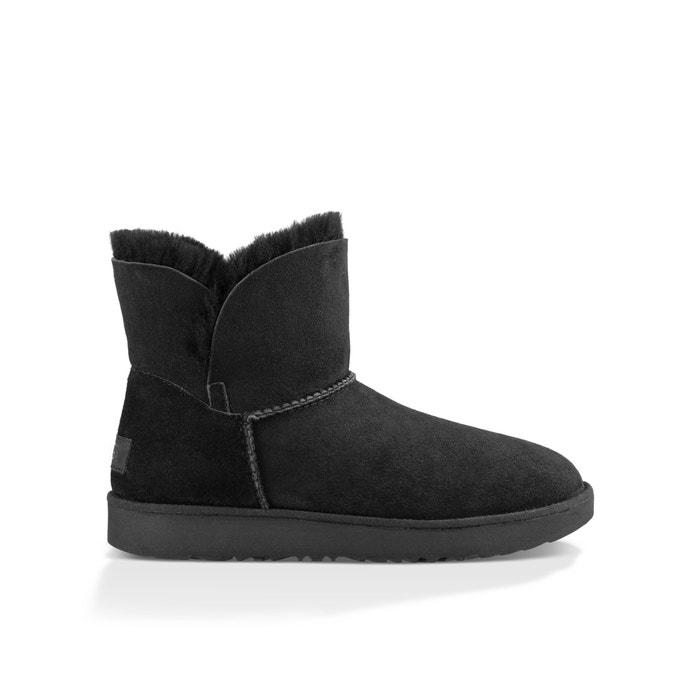 e2b87f3c878 Classic Cuff Mini Fur-Lined Ankle Boots