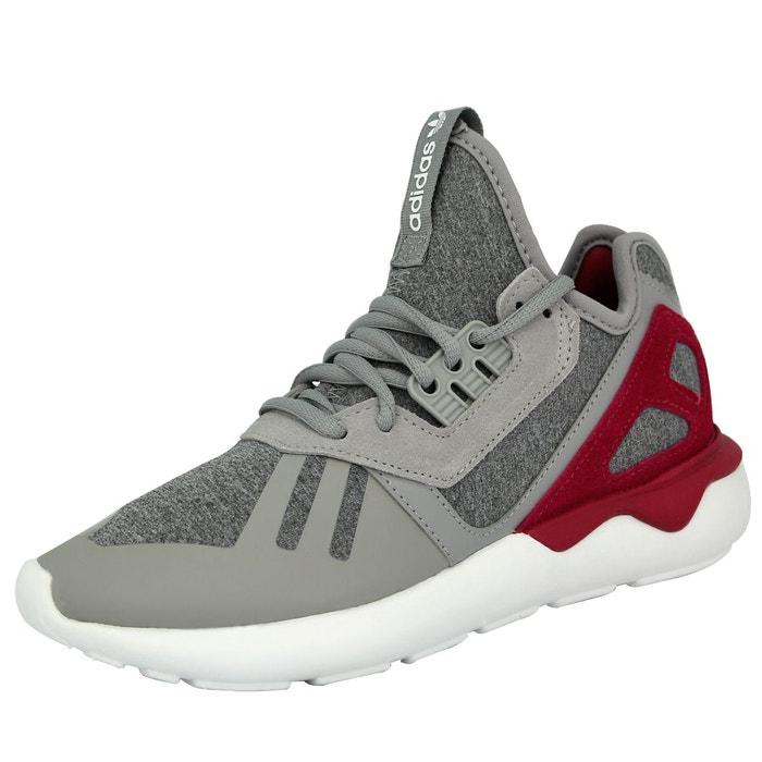 Adidas originals tubular runner w chaussures mode sneakers femme gris violet gris Adidas Originals