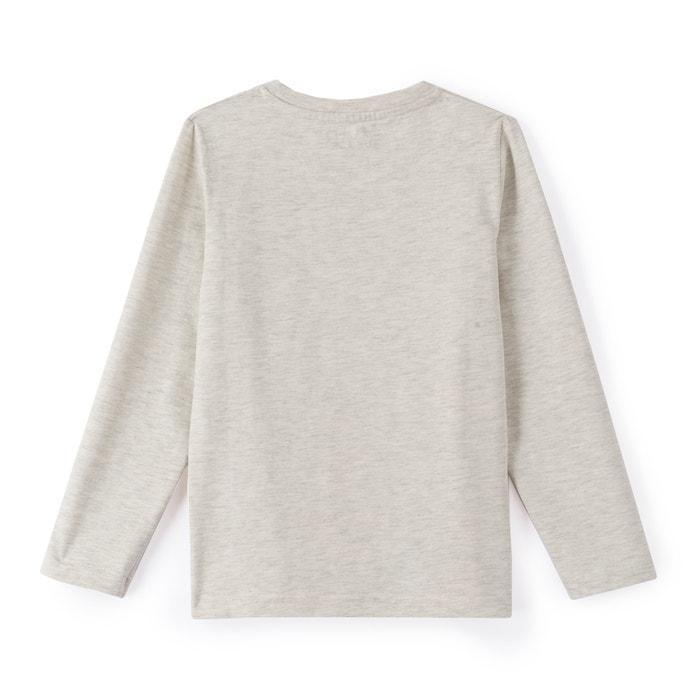 """afbeelding T-shirt """"wolf"""" 3-12 jaar La Redoute Collections"""