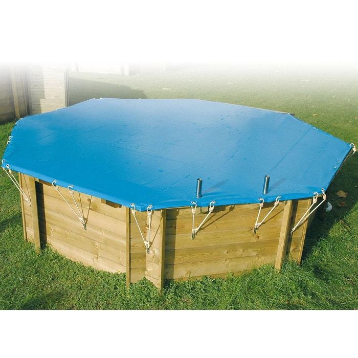 B che hiver pour piscine azura ubbink 3 50 x 5 05 m couleur unique ubbink la redoute for Piscine la redoute