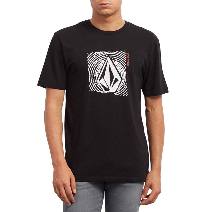 delante VOLCOM cuello con manga redondo y de estampado corta Camiseta CqYCxnZ