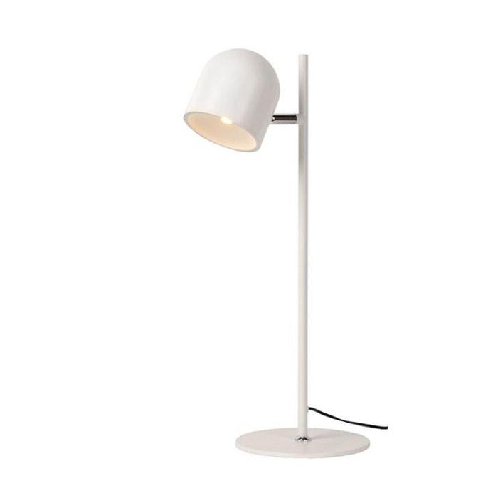 lampe de bureau lucide skanska led blanc lucide la redoute. Black Bedroom Furniture Sets. Home Design Ideas