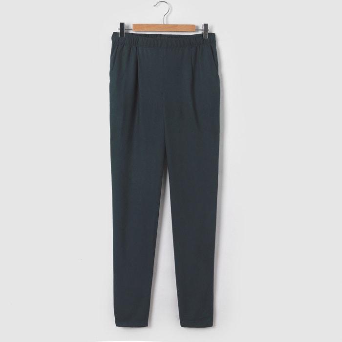Image Pantalon fluide à enfiler 10-16 ans La Redoute Collections
