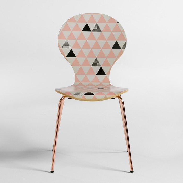 Set of 2 Elori Geometric Chairs