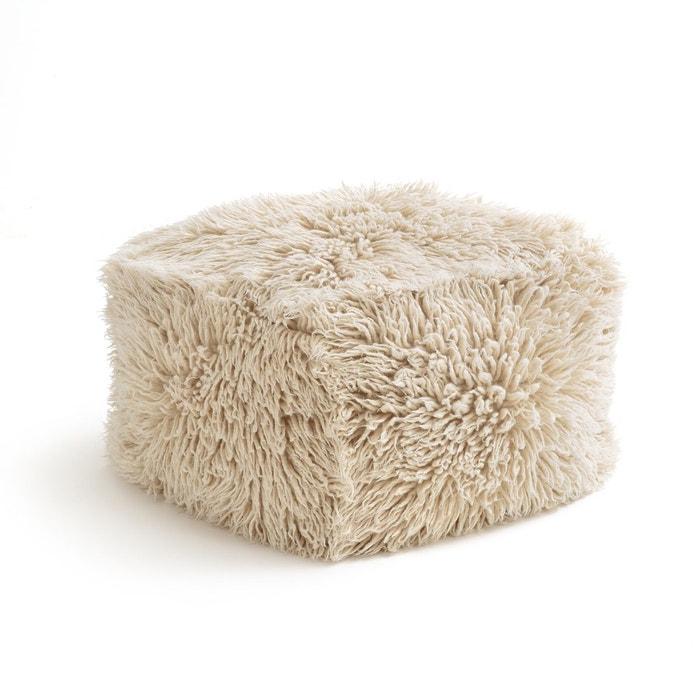 pouf laine carito naturel am pm la redoute. Black Bedroom Furniture Sets. Home Design Ideas