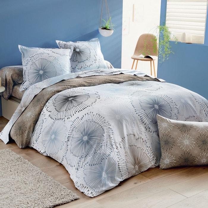 housse de couette aurore en microfibre bleu ciel bleu ciel origin la redoute. Black Bedroom Furniture Sets. Home Design Ideas