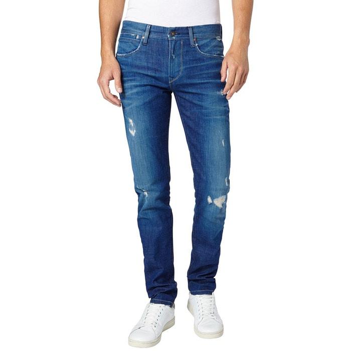 Jeans Pepe Jean Slim Redoute 73cm Bleu Moyen La wvwPXpqzx