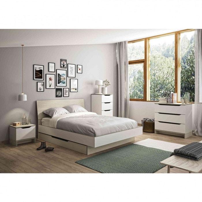 Chambre Complete Imitation Chene Cb5015 2