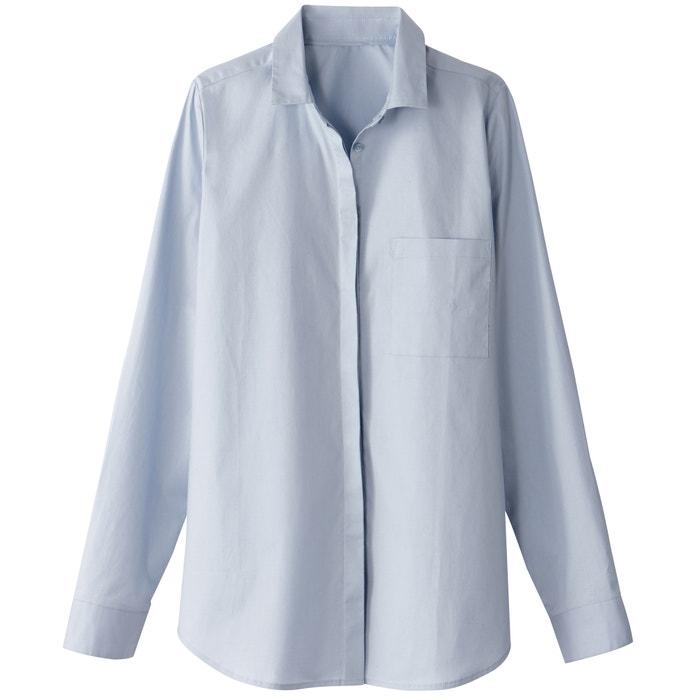 Купить Рубашка прямого покроя из хлопка La Redoute Collections