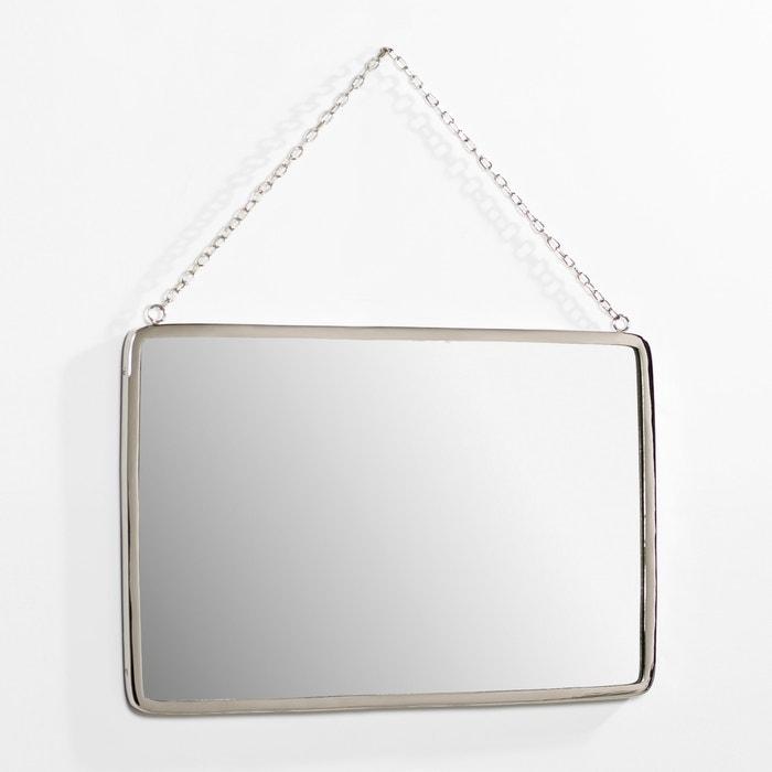 Espelho retangular, comp. 50 x alt. 37 cm, Barbier AM.PM.