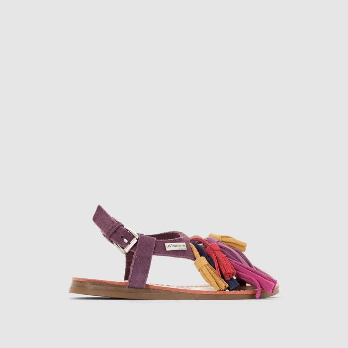 Kids Gorby Flat Leather Sandals  LES TROPEZIENNES PAR M.BELARBI image 0