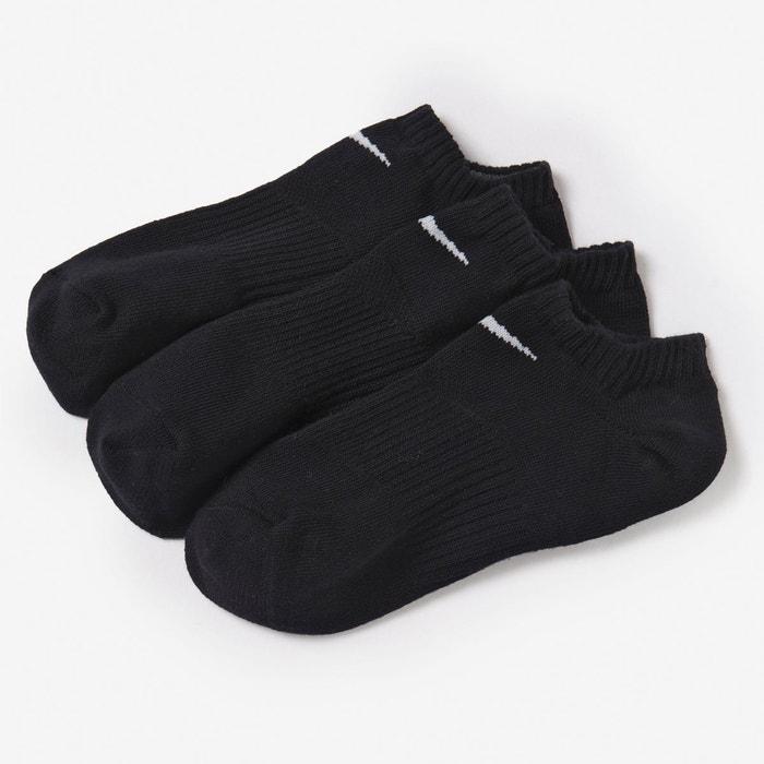 chaussettes le lot de 3 paires nike la redoute. Black Bedroom Furniture Sets. Home Design Ideas