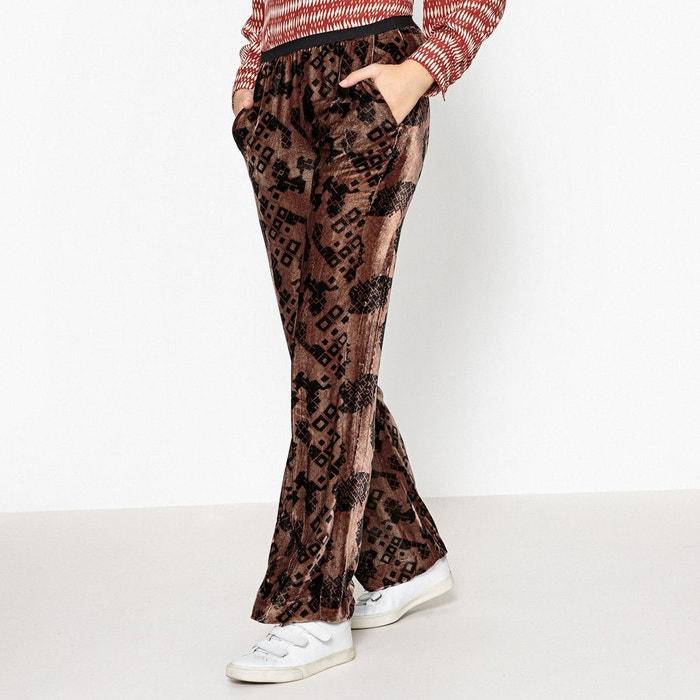 Exceptionnel Pantalon velours marron femme | La Redoute TS49