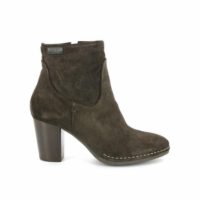 Boots cuir suede à talon 74832 onside sud marron P Les Sites De Vente Le Plus Grand Fournisseur Pas Cher Livraison Gratuite Sast qcE4o8SMk
