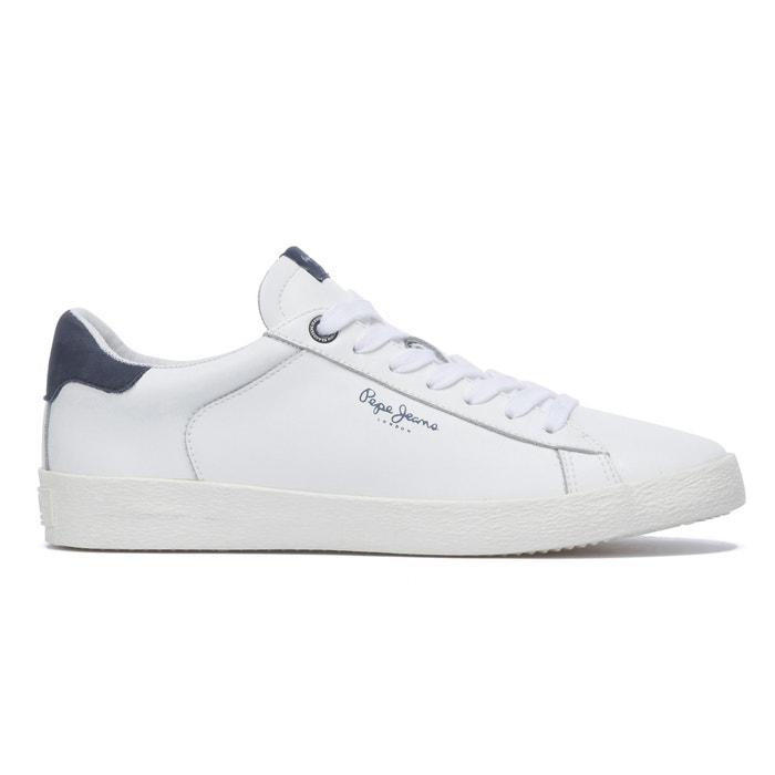 Pepe Jeans PORTOBELLO CLASSIC - Trainers - white BMYYXX3T