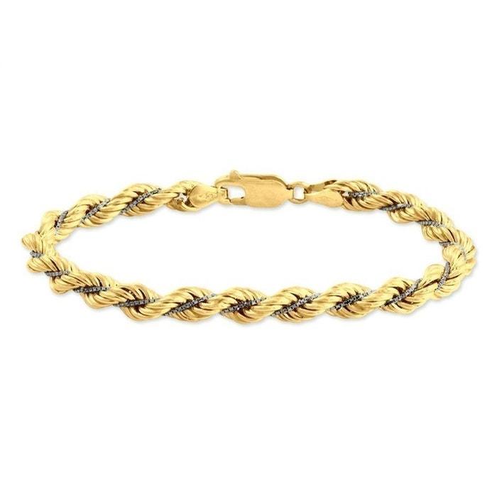 La Sortie Mieux Bracelet or bicolore Histoire D'or | La Redoute Vente À Chaud À Vendre remise WexBUbow