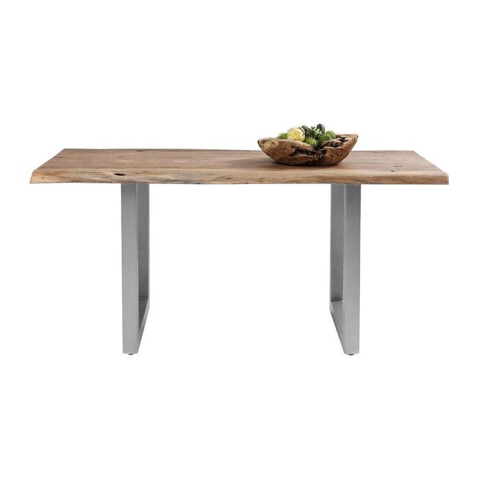 Table pure nature 160x80 cm kare design bois kare design for Table a manger la redoute
