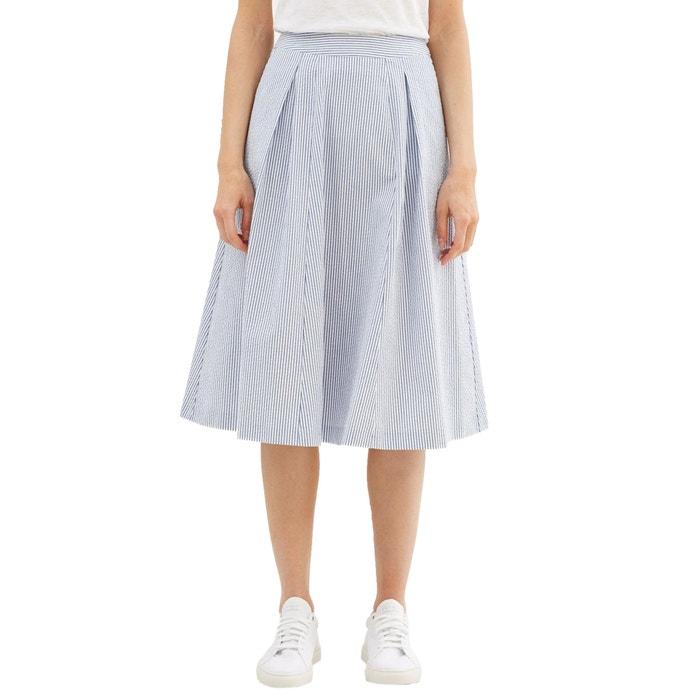 Falda rayas rodilla la a ESPRIT con por largo wzExPwq8d