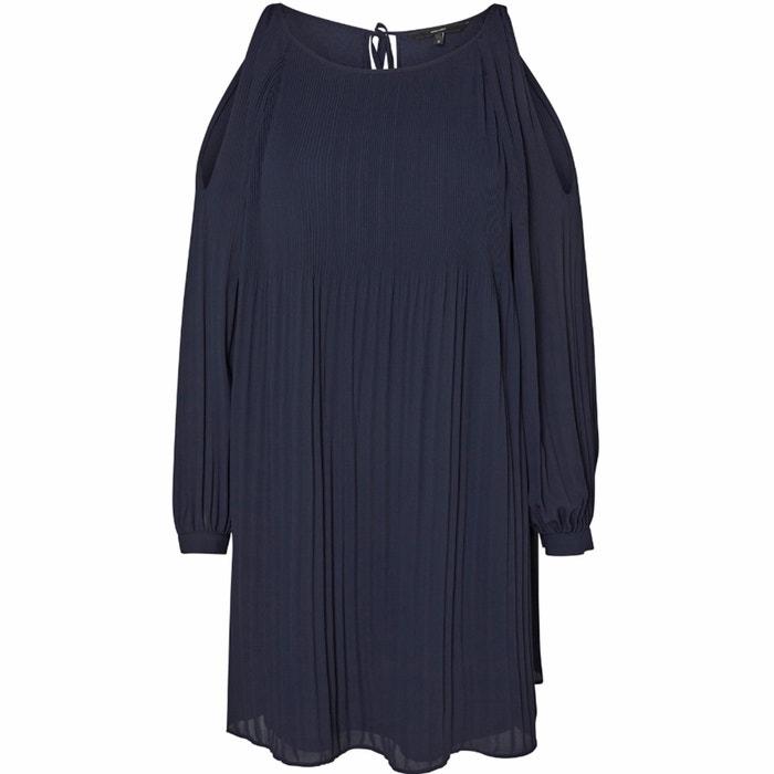 Cold Shoulder Pleated Dress  VERO MODA image 0
