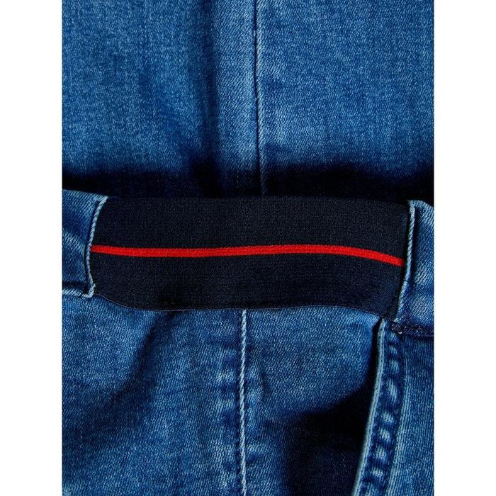 jean loose fit raccourci bleu-medium blue denim name it | la redoute