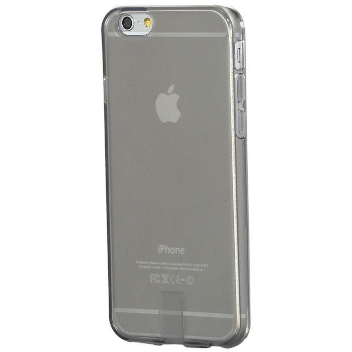 coque iphone 6 apple silicone gris