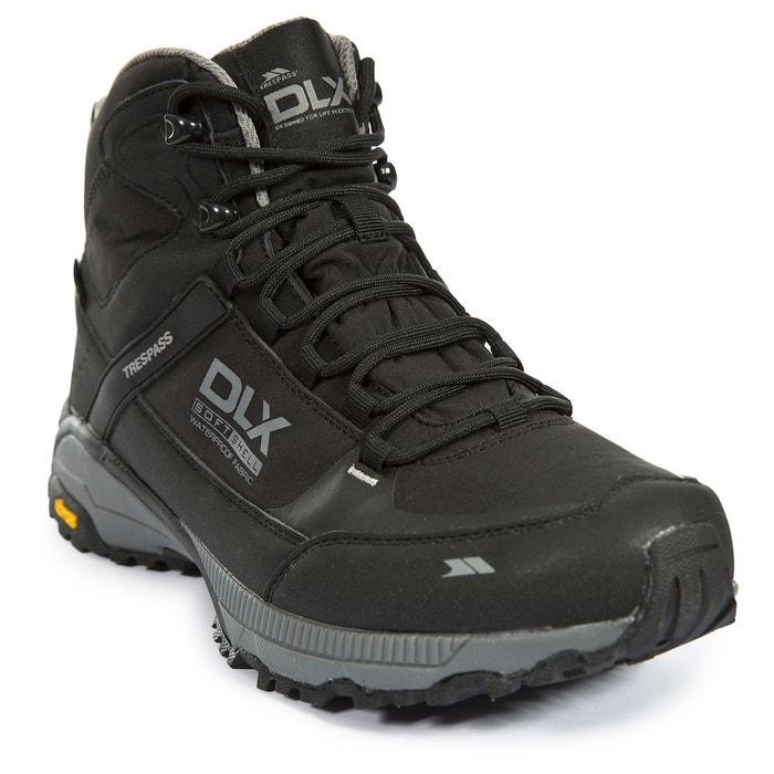 Renton - chaussures randonnée marche dlx - homme noir Trespass   La Redoute 9c006da026b9