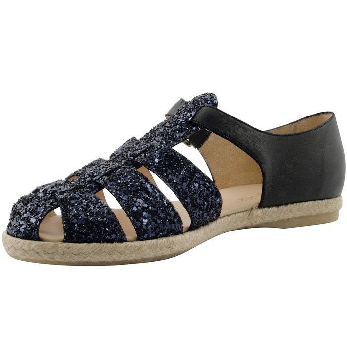 Sandales nita bleu Exclusif Paris