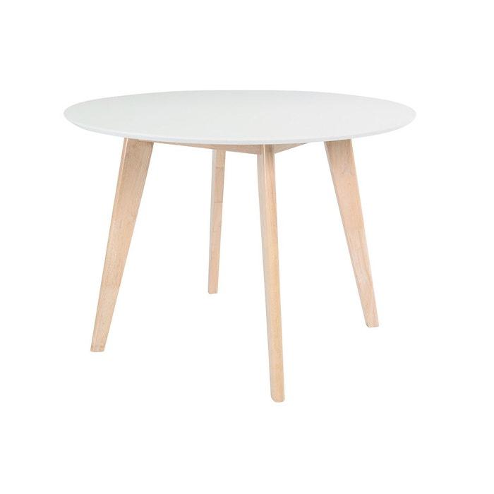 Table A Manger Design Ronde D100 Cm Leena Miliboo La Redoute