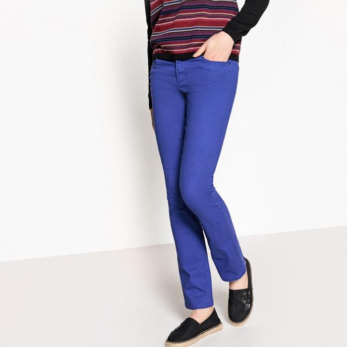 Pantaloni dritti cotone stretch  La Redoute Collections image 0