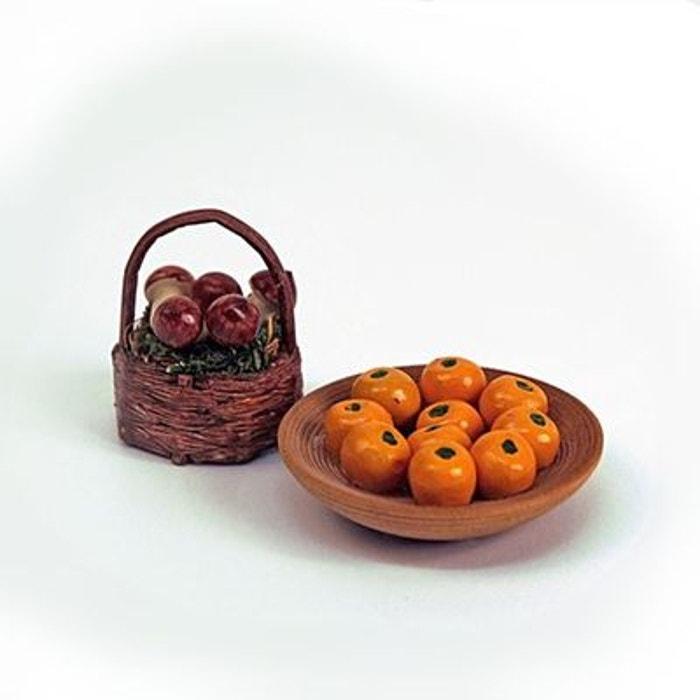 Accessoires pour maison de poupées : Mobilier et accessoires : Corbeilles de fruits d'automne ARTESANIA BEATRIZ