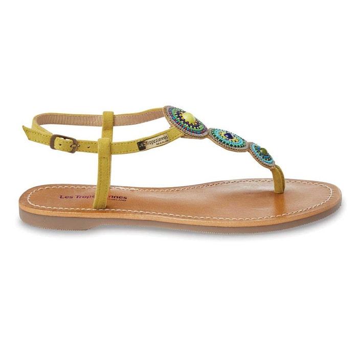 sandales cuir plates orion les tropeziennes par m belarbi la redoute. Black Bedroom Furniture Sets. Home Design Ideas