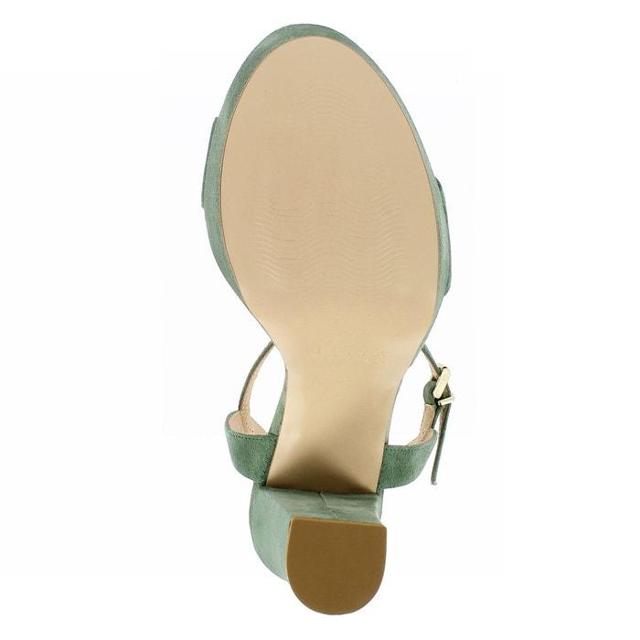 Sandales femme vert olive Evita