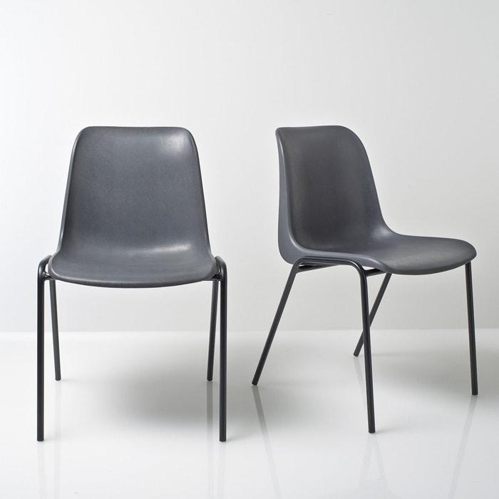 Image Set of 2 JANIK Stackable Vintage Chairs LES PETITS PRIX