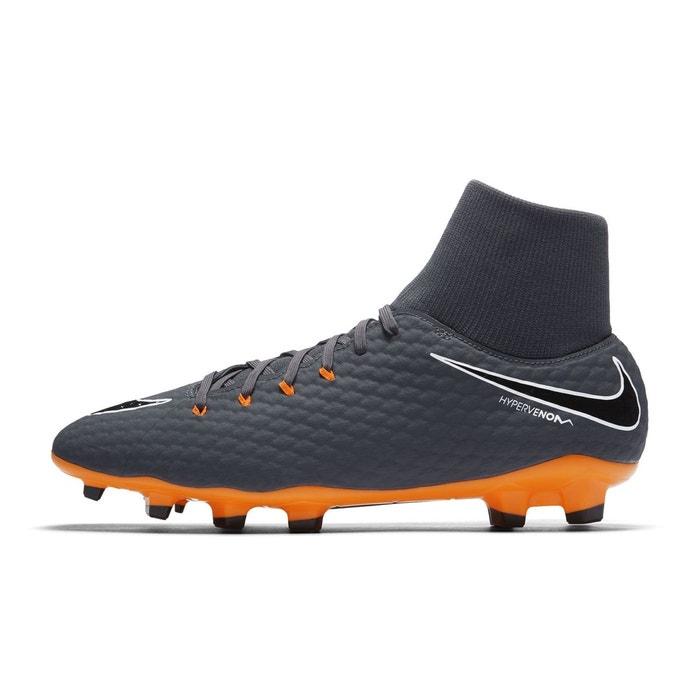 big sale 6109e 51a6c Chaussures football chaussure de football nike hypervenom phantom iii  academy df fg gris gris Nike  La Redoute
