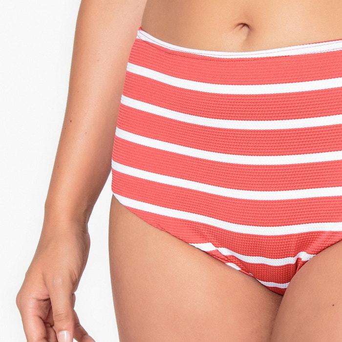 CASTALUNA de moldeadora de bikini Braguita rayas a alto talle 77Bxrpgw5q