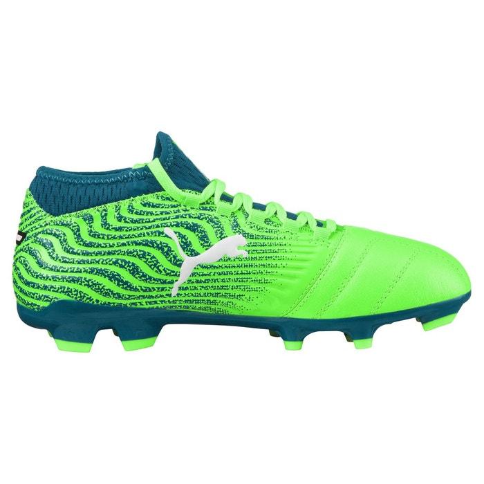 Fg Vertbleu De Football Chaussure 18 Chaussures Puma One 3 MVpjSUqzLG