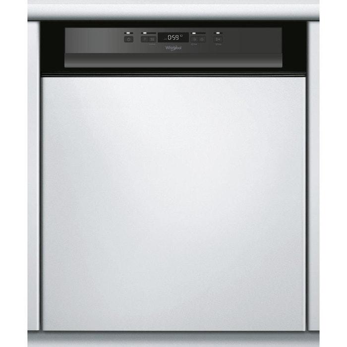 Lave vaisselle encastrable 60 cm wbc 3 c 24 pb bandeau - Lave vaisselle encastrable bandeau noir ...