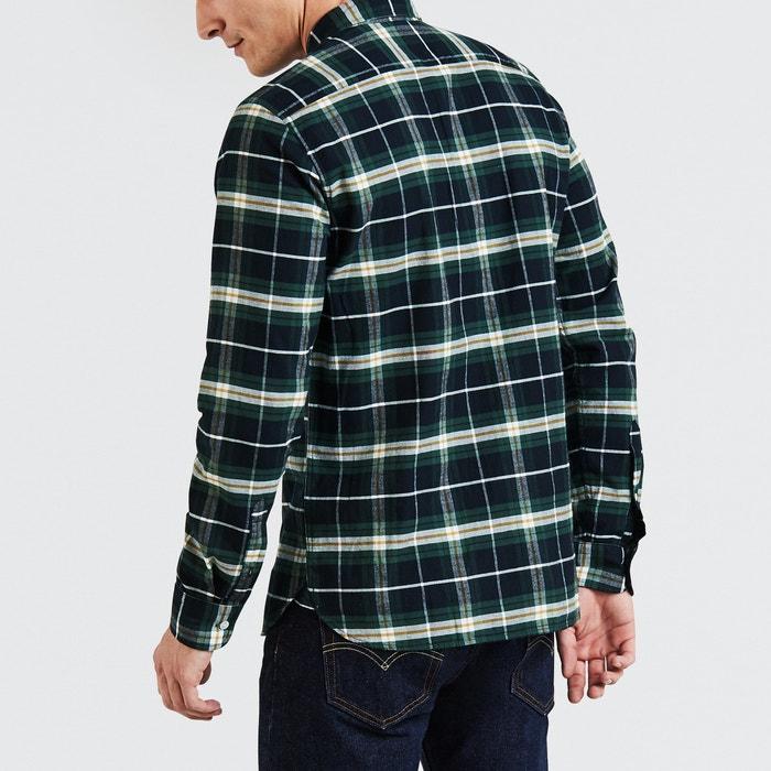 LEVI'S recta larga manga de Camisa rBH7rqZn