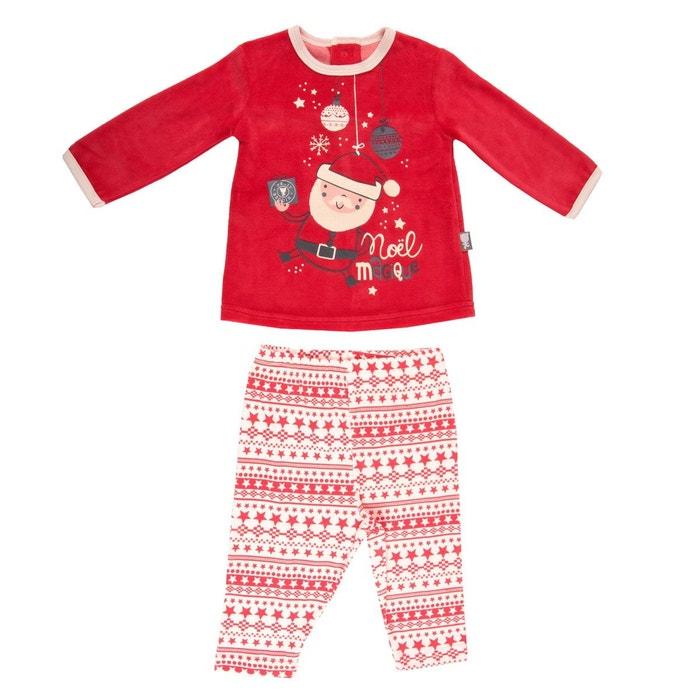 Pyjama bébé Super Noël  PETIT BEGUIN image 0