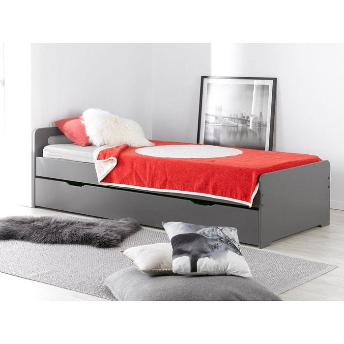 lit gigogne enfant f ro 90x200 chambrekids la redoute. Black Bedroom Furniture Sets. Home Design Ideas
