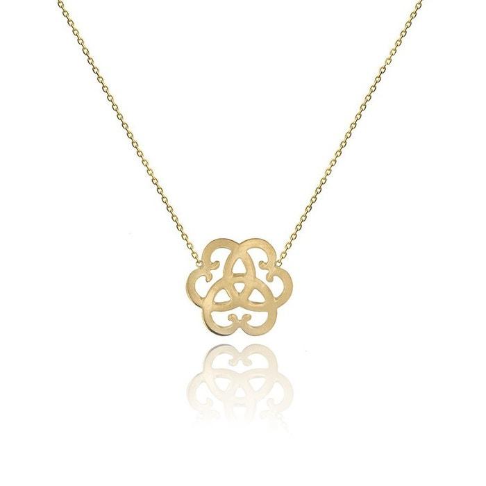 Collier chaîne motif 3 coeurs or 18 carats ! jaune Be Jewels | La Redoute Jeu En France De Nombreux Types De Pour Le Prix Pas Cher Sortie Avec Paypal gEoGAduO