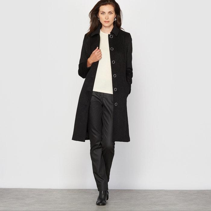 Image Manteau, drap de laine ANNE WEYBURN
