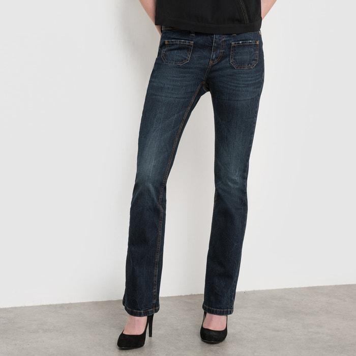 manon bootcut jeans stonewashed freeman t porter la redoute. Black Bedroom Furniture Sets. Home Design Ideas