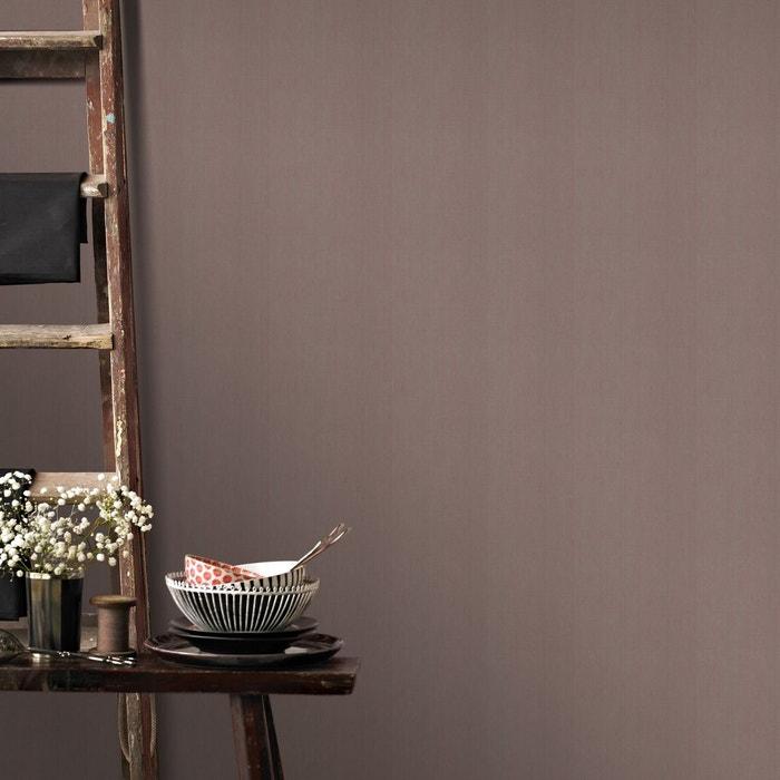Superfresco easy papier peint intissé lin marron 10 m x 52 cm marron ...