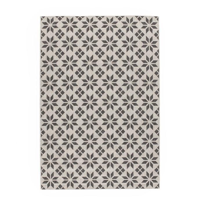 Tapis tissé plat carreaux de ciment, Iswik  LA REDOUTE INTERIEURS image 0