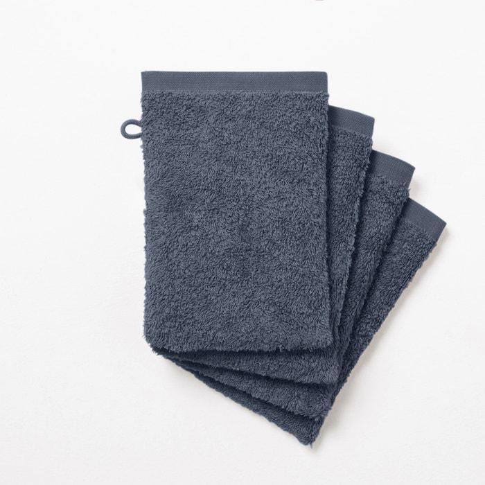 Pack of 4 Cotton Wash Mitts, 500g/m²  SCENARIO image 0